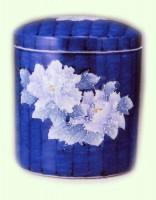 特選骨容器 / 染付盛花牡丹