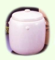 特選骨容器 / 白陶