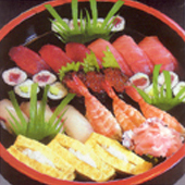 握寿司三人前