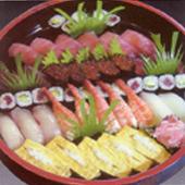 握寿司五人前